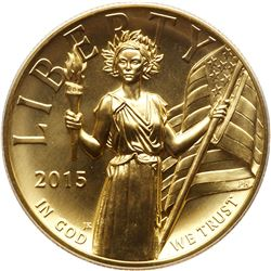 2015 $100 American Liberty gold coin