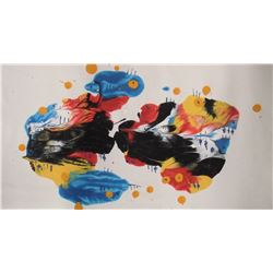 920LA LangdonArt original painting for table, selve, paperweight on desk at home, office - peinture