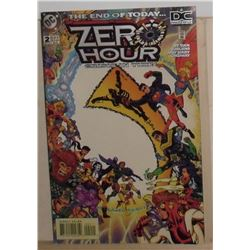 MINT condition Printed in Canada DC Comics Zero Hour #2 September  1994 - bande dessinée neuve