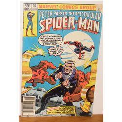 Peter Parker Spider-Man Vol 1 #57 Aug 1981 comic book as is sitll Ok - bande dessinée