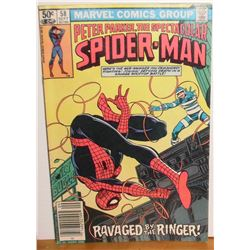 Peter Parker Spider-Man Vol 1 #58 Sept 1981 comic book Near Mint or Mint - bande dessinée