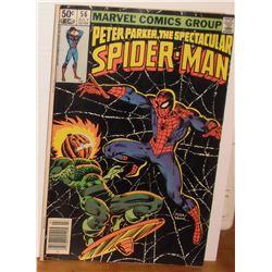 Peter Parker Spider-Man Vol 1 #56 July 1981 Near Mint or Mint - bande dessinée