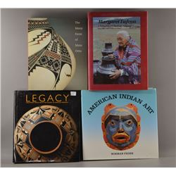 BOOK ON AMERICAN INDIAN AND MEXICAN  ART
