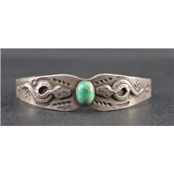 NAVAJO INDIAN FRED HARVEY BRACELET