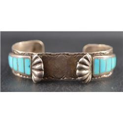 ZUNI INDIAN WATCH BRACELET