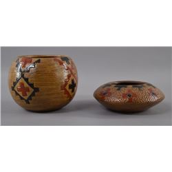 NAVAJO INDIAN POTTERY BOWLS
