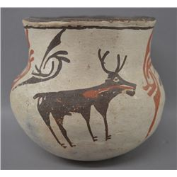 ZUNI INDIAN POTTERY JAR