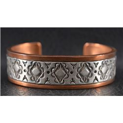 NAVAJO INDIAN BRACELET (RANDY SECATERO AND  SYLVANA APACHE)