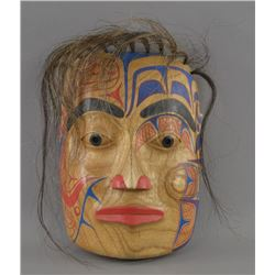 DECORATIVE WOODEN MASK