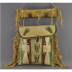 PLAINS INDIAN PARFLECHE BAG