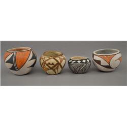 ACOMA INDIAN POTTERY JARS