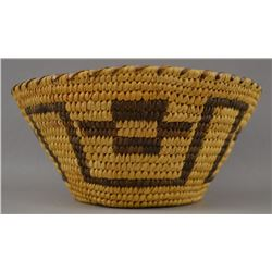PAPAGO INDIAN BASKET BOWL