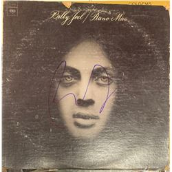 Signed Billy Joel, Piano Man Album Cover