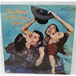 Signed The Mamas And The Papas The Mamas and the Papas Deliver Album Cover
