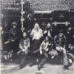 Signed Allman Brothers Band At The Fillmore East Album Cover