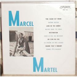 LP used record 33 Marcel Martel in French - en Français utilisé