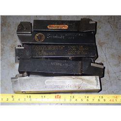 """(5) 1"""" x 1"""" Lathe Turning Tools"""