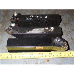 """(3) 1"""" x 1.25"""" Lathe Turning Tools"""