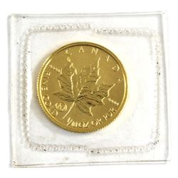 Scarcer 1997 Canada 1/10oz Family Privy .9999 Fine Gold Maple Leaf in Sealed Mint Plastic. Lower min