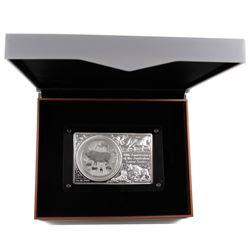 1999-2019 Australia 20th Anniversary of the Australian Lunar Series Fine Silver 1oz Coin and 2oz Bar