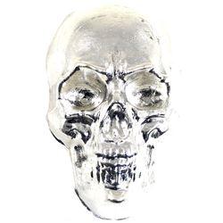 10oz Beaver Bullion .999 Fine Silver Skull (TAX Exempt).