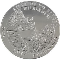2019 Idaho 5oz .999 Fine Silver River of No Return Commemorative US Mint Issue (TAX Exempt).