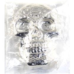 5oz Beaver Bullion .999 Fine Silver Skull (TAX Exempt).