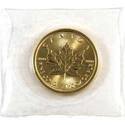 2018 Canada 1/10oz .9999 Fine Gold Maple Leaf in Sealed Mint Plastic (TAX Exempt).
