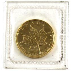 1982 Canada $5 1/10 oz. Gold Maple Leaf (Tax Exempt)
