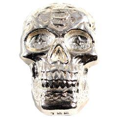 Beaver Bullion 5oz .999 Fine Silver Poured Skull (TAX Exempt)
