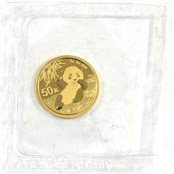 2020 China 3g .9999 Fine Gold Coin Sealed in Mint Plastic (TAX Exempt).