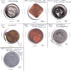 Lot of Canada Medallions - 1867-1927 Canada Diamond Jubilee Struck by The Rowntree Co. Ltd. Makes of