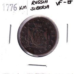 1776KM Russia Siberia Kopek VF-EF.