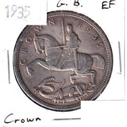 1935 Great Britain Crown Extra Fine.