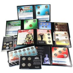 Estate Lot of Various Canada Commemorative Coin Sets. You will receive 20th Century Canadian Nickel