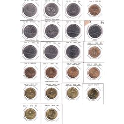 Estate Lot of 1968-2015 Canada Nickel Dollars and Loon Dollars. You will receive a variety of dates