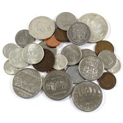 Assortment of Canadian Coinage Old to Modern. You will receive total of 7.46 face value