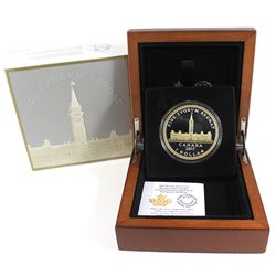 2017 Canada $1 Commemorative Royal Visit - Parliament Building Fine Silver Dollar (outer sleeve ligh