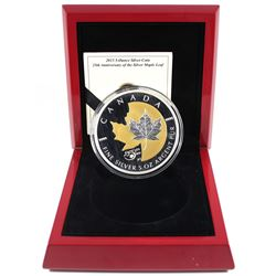 2013 Canada $50 25th Anniversary Silver Maple Leaf 5oz Fine Silver Coin (missing outer sleeve). TAX