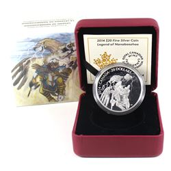 2014 Canada $20 Nanaboozhoo & the Thunderbird's Nest Fine Silver Coin (TAX Exempt).