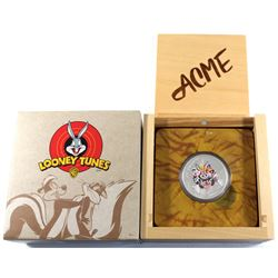 2015 Canada $20 Looney Tunes Classic Scenes Merrie Melodies Fine Silver Coin (capsule is scratched).