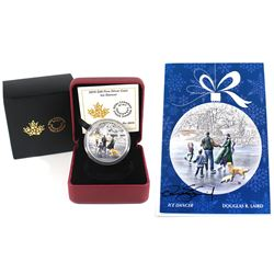 2015 Canada $20 Ice Dancer Fine Silver Coin with Hand Signed Art Card by Artist Douglas R. Laird