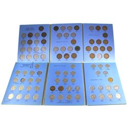Estate Lot, Large Cent Collection and Canadian 5-cent Collection. Includes 24x Large 1-cents, many a
