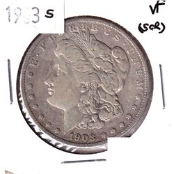 1903-S United States Morgan Dollar VF (Scratched)