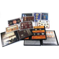 Collection of United States Commemorative coins and sets: World War II Silver Nickel 3-coin Mint Mar