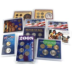 Collection of United States Coin Sets: 1964 Americana Series 4-Coin Set, Coins of the American Front