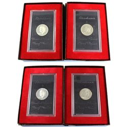 1971-1974 United States Silver Eisenhower Proof Dollars. Coins come housed in original mint packagin