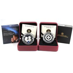 2011 Canada $20 Winnipeg Jets & 2011 $20 Wedding Celebration Fine Silver Coins (Tax Exempt) 2pcs
