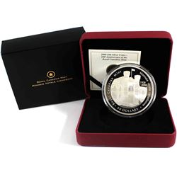 2008 Canada $50 Royal Canadian Mint Centennial 5oz Fine Silver Coin (capsule lightly scratched) TAX
