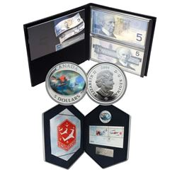 2006 Snowbirds $5 Pure Silver Set & Lasting Impression $5 Set. Please note that the lasting impressi
